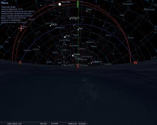 Mars at 2009-12-31T22:30 UTC+0800