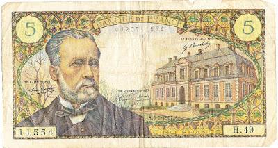 Banknote Pasteur