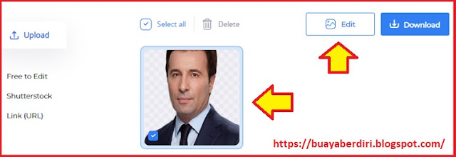 Cara Ubah Background Foto  di PicsArt