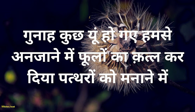 sad quotes in hindi for gf