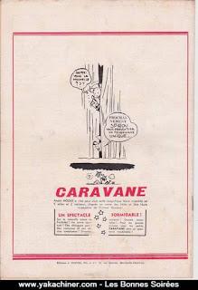 Publicité pour l'hebdomadaire Spirou