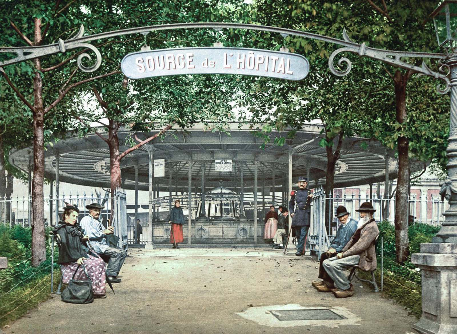 The Hôpital Spring, Vichy.
