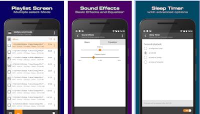 pemutar musik AIMP Android