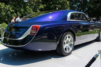 Sujimoto Plans To Gift His Wife The Most Expensive Car Ever Built, Rolls Royce Sweptail, Worth $13million