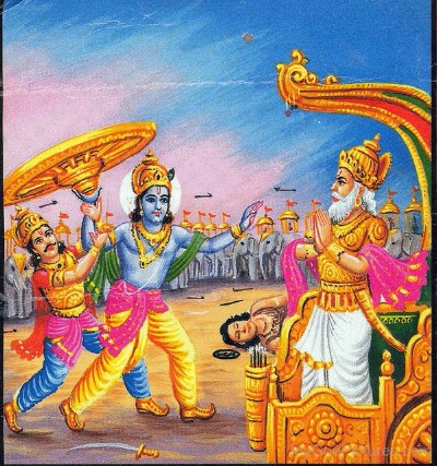 Hindu lord bhishma picture
