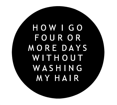 how to go four days without washing hair, dry shampoo, how to skip hair washes, beauty on a budget, north carolina blogger