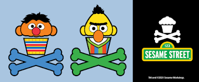 Sesame Street x Johnny Cupcakes T-Shirt Collection Part 2
