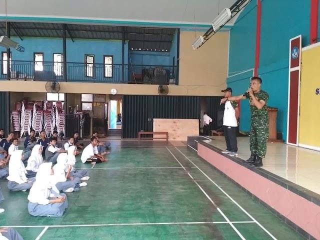 Tanpa Honor, Anggota Koramil 01/Pancoran Mas Ikhlas Latih Pelajar Senam Gemu Famire