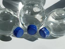 An  average person consuming 1,769 particles of plastic in a  week from water only.