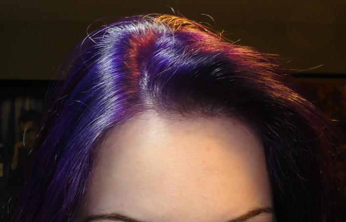 net's little corner: Purple Hair - Ion Color Brilliance