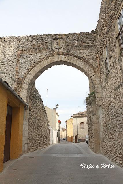 Puerta de San Andrés, Cuéllar