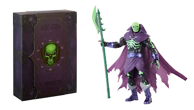San Diego Comic-Con 2021 Exclusive Masters of the Universe Masterverse Revelation Scare Glow Action Figure by Mattel