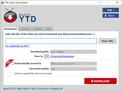 YTD Downloader and Converter