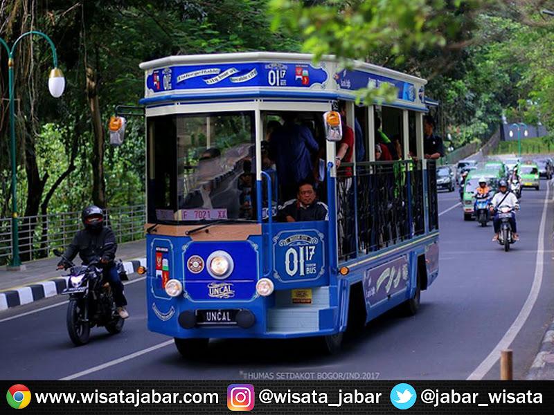 Cara naik Bus Uncal Bogor