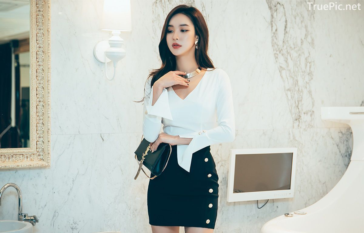 Korean Fashion Model - Park Da Hyun - Indoor Photoshoot Collection - TruePic.net - Picture 5