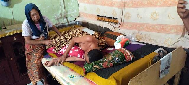 Jual Rumah, Azmi Penderita Kanker Paru Di Matang Pineng Kini Sangat Butuh Uluran Tangan