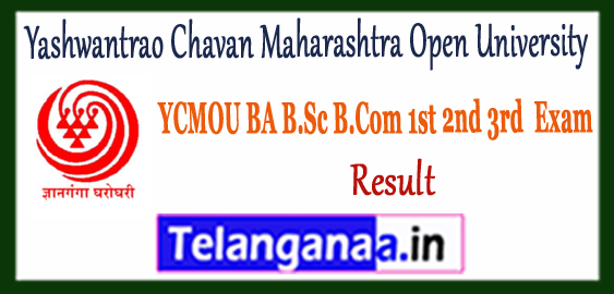 YCMOU Yashwantrao Chavan Maharashtra Open University Nashik UG Result 2018