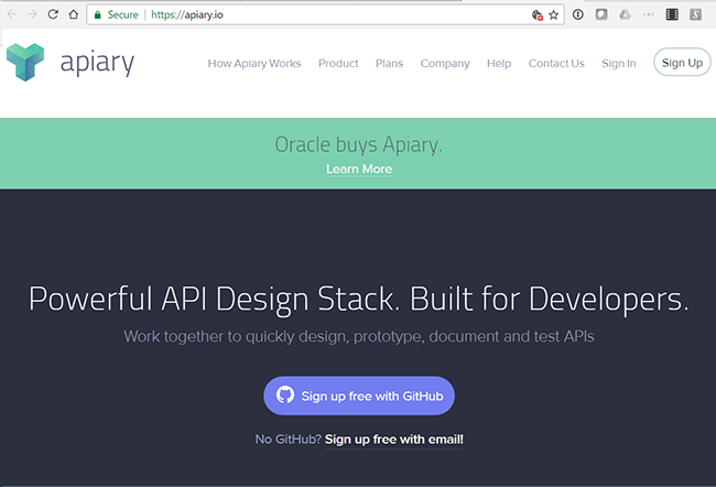 Oracle to acquire apiary for api framework converge network digest its apiflow framework spans the api creation lifecycle including design governance testing and documentation while supporting api blueprint and openapi malvernweather Choice Image