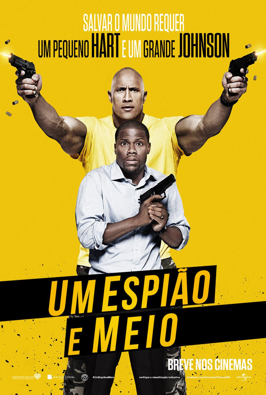 Poster do filme Um Espião e Meio