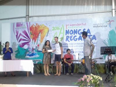 Penyerahan hadiah nongsa regatta 2016