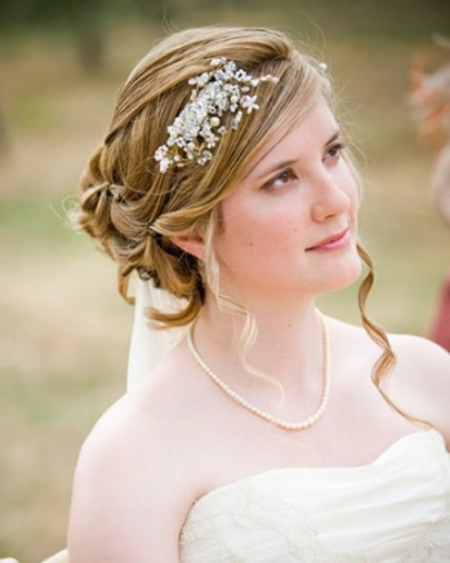 Peachy 25 New Bridal Hairstyles For 2011 Dailyoffbeatnews Short Hairstyles Gunalazisus