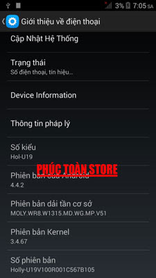 Rom Huawei honor u19 mt6582 Flashtool alt