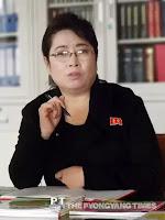 Ri Kyong Ae, headmistress of Pong Hak Primarry School
