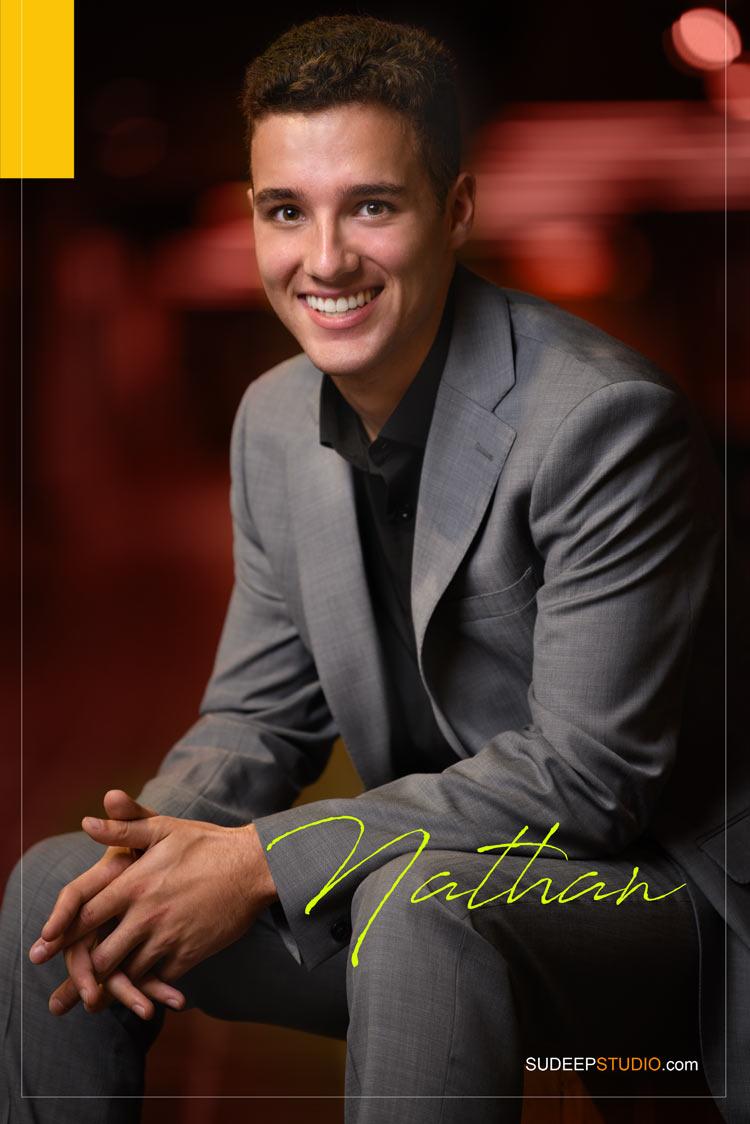 Huron High School Senior Pictures for Guys GQ Urban Style SudeepStudio.com Ann Arbor Senior Portrait Photographer