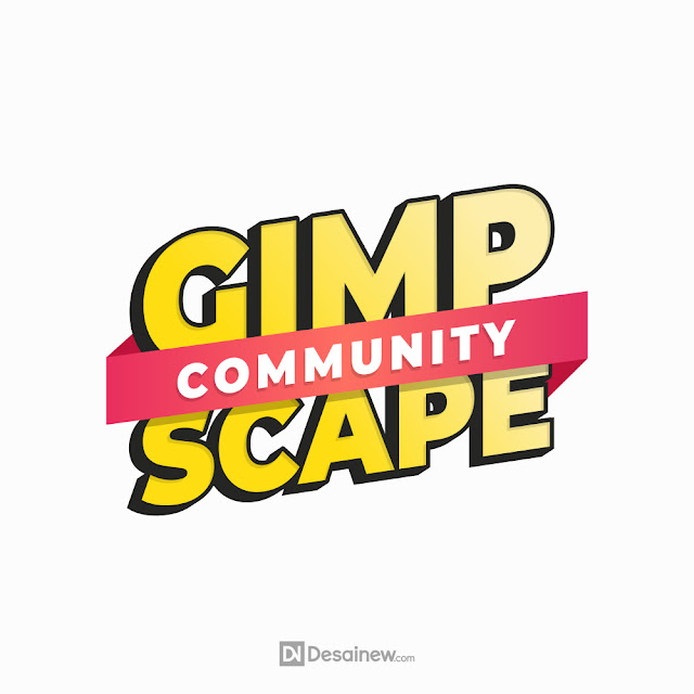 Gimpscape Banner Design Tutorial Inkscape Gimp Logo Adobe Illustrator