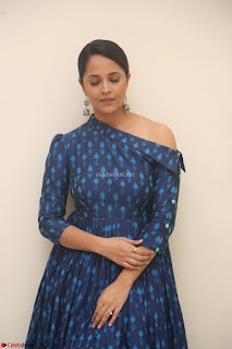 Anchor Anasuya in a Blue Gown at Jai Lava Kusa Trailer Launch ~  Exclusive Celebrities Galleries 006.JPG