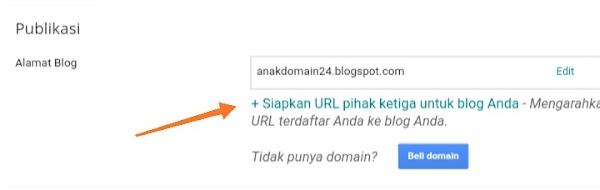 Cara Membuat Subdomain untuk Blogger Custom Domain (NiagaHoster)