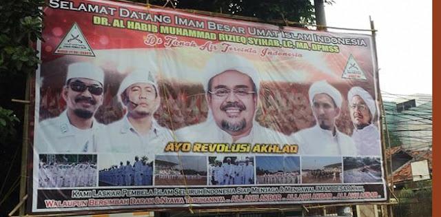Keluarga Dan Jemaah Akan Sambut Habib Rizieq Gede-gedean Di Petamburan