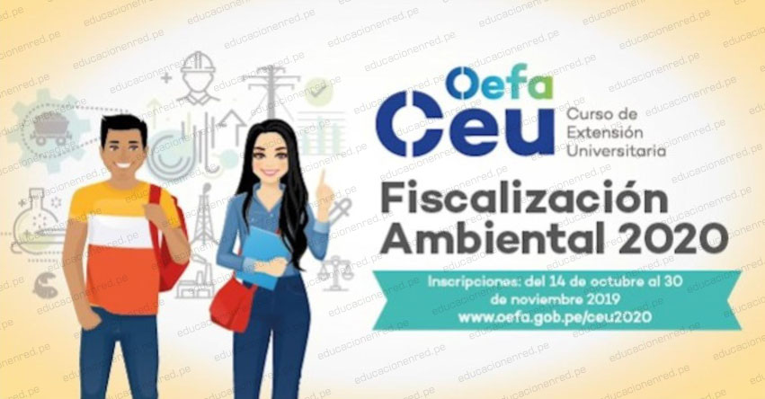 OEFA ofrece becas de estudio para estudiantes universitarios a nivel nacional