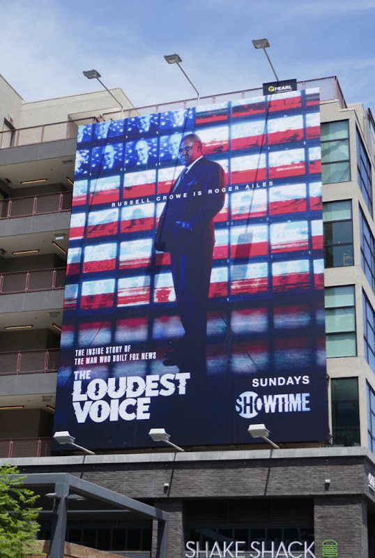 Loudest Voice series launch billboard