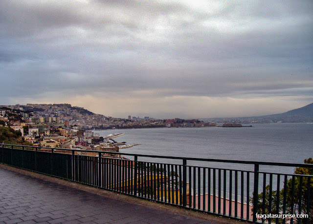Nápoles vista do Monte Posillipo