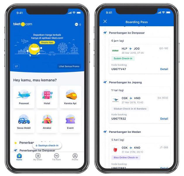 Cara Check In Online Pesawat Menggunakan Aplikasi Tiket.com - Travelagen.Net
