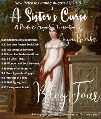 Blog Tour: A Sister's Curse by Jayne Bamber