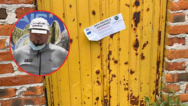 """El Marro ya tenia un """"super plan"""" de escape esta es la puerta Amarrilla por donde el Capo iba escapar pero no alcanzo ni a llegar"""