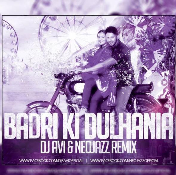 Clubs Badrinath Ki Dulhania – Dj Avi X Neojazz Remix