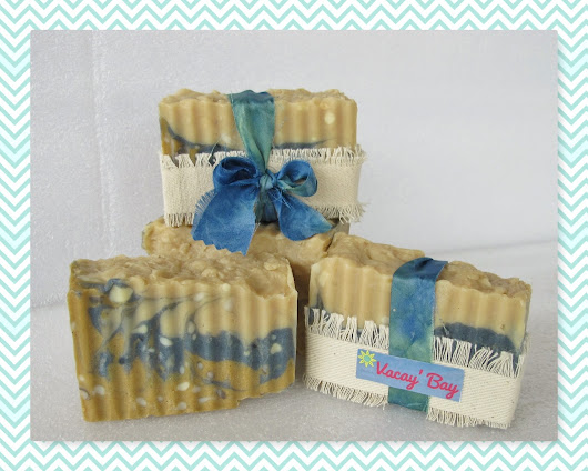 Great Cakes Soapworks Challenge ~ April 2017 ~ Rustic Soap & Packaging