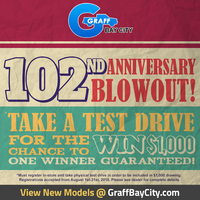 Test Drive Your Dream Chevy and Enter to Win $1000 at Graff Bay City