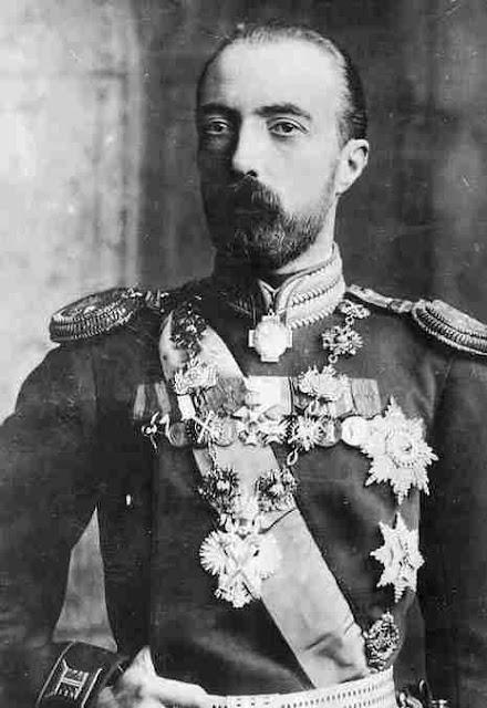 Grand Duke Michael Mikhailovich of Russia  16 October 1861 – 26 April 1929
