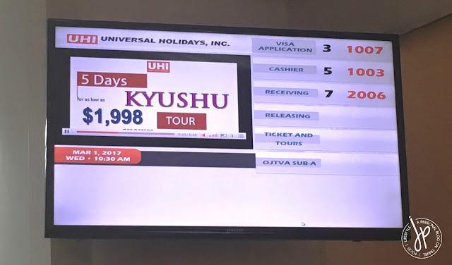 Japan Visa application at Universal Holidays Inc.