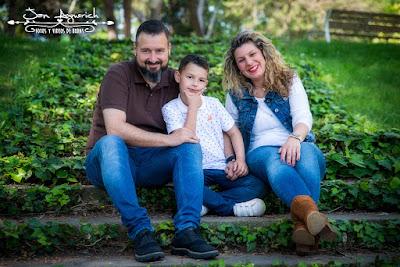 reportaje fotográfico familia
