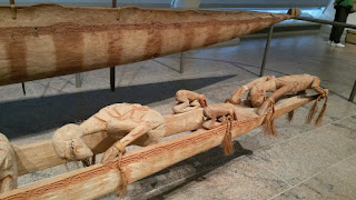 Asmat spirit canoe (wuramon)  at Metropolitan Museum of Art
