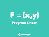 Contoh Soal Program Linear Kelas 11 Disertai Pembahasannya.