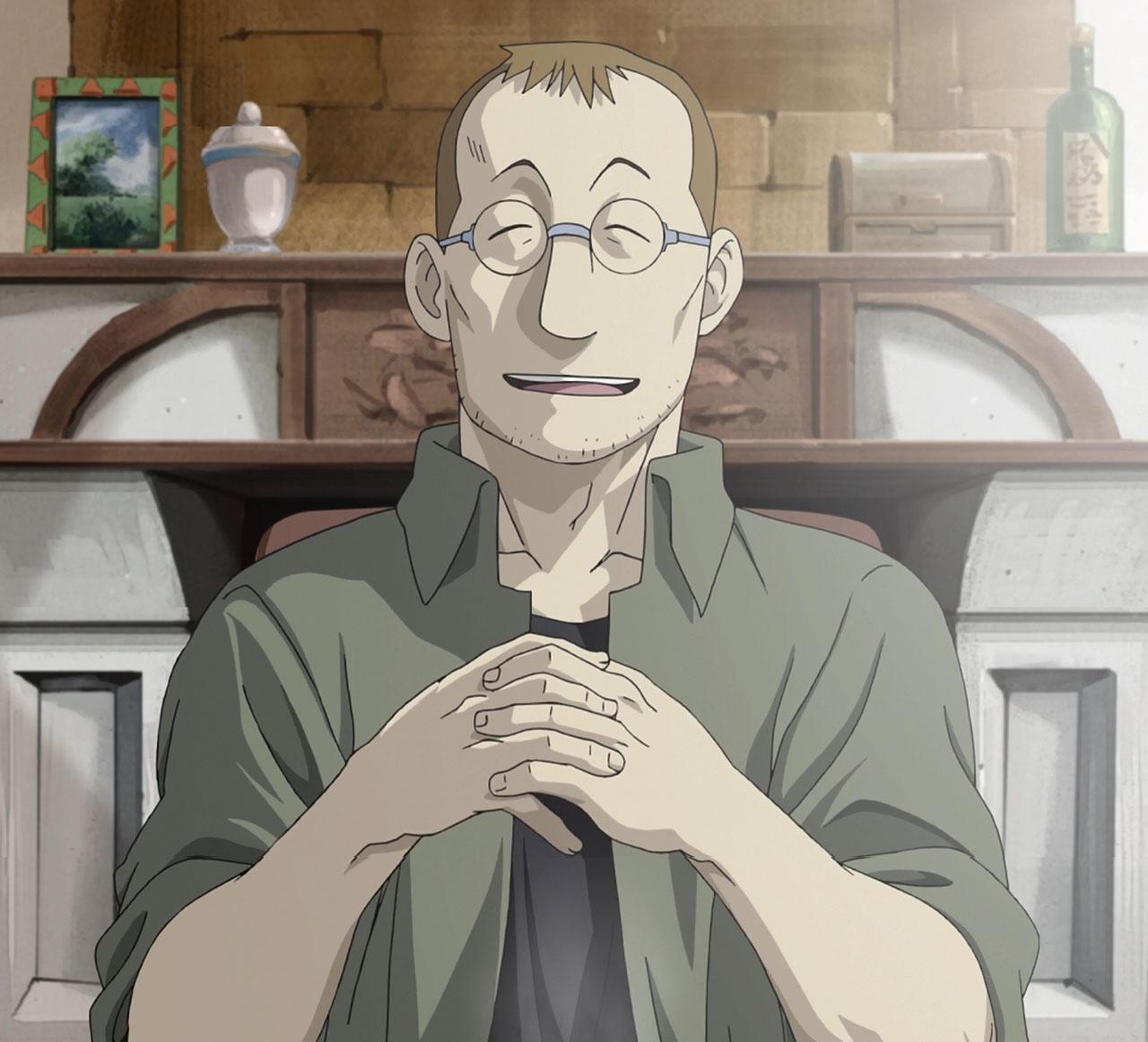 Shou Tucker Fullmetal Alchemist