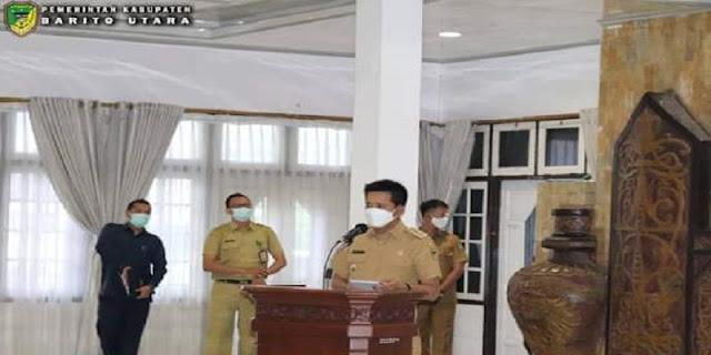 Bupati H Nadalsyah Buka Rapat Kerja Lingkup Pemerintah Kabupaten Barito Utara