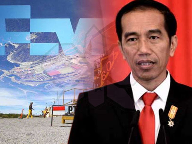 Jokowi Claims Freeport Indonesia's Divestment is an Inpressive Progress