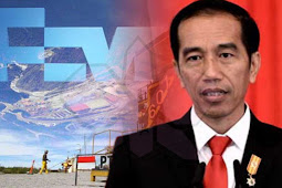 Jokowi Claims Freeport Indonesia's Divestment is an Impressive Progress
